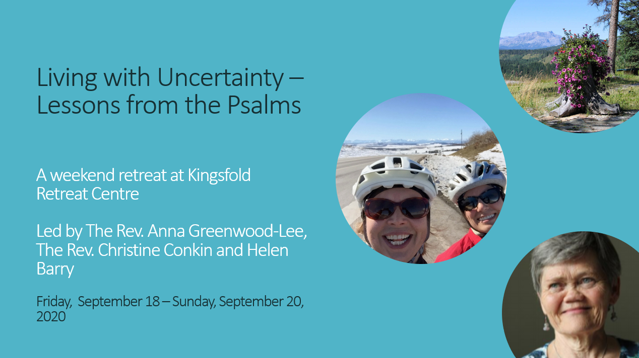 Living with Uncertainty - Lessons from the Psalms